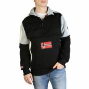 Bluze sport Geographical Norway Fagostino007_man Negru