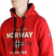 Bluze sport Geographical Norway Guitre100_man Rosu