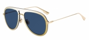 Ochelari de soare Dior DIORULTIME1 Galben