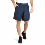 Pantaloni scurti Armani Exchange 3ZZS43_Z1CTZ Albastru