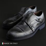 Pantofi Madrid CL600_PELLE Albastru