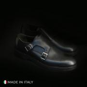 Pantofi Madrid CL600_PELLE Negru