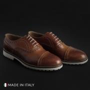 Pantofi siret Duca Di Morrone 05_VITELLO Maro