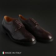Pantofi siret Duca Di Morrone 2140_PELLE Maro