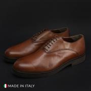 Pantofi siret Duca Di Morrone 602_CRUST Maro