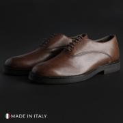 Pantofi siret Madrid 603_CRUST Maro