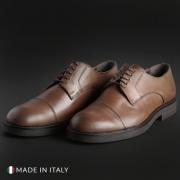 Pantofi siret Madrid 605_CRUST Maro