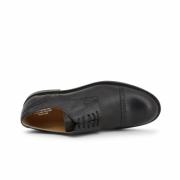 Pantofi siret Duca Di Morrone 607_PELLE Negru