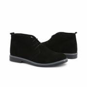 Pantofi siret Duca Di Morrone 233_CAMOSCIO Negru