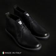 Pantofi siret Duca Di Morrone 233_PELLE Albastru