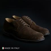 Pantofi siret Duca Di Morrone 06_CAMOSCIOBUCATO Maro