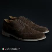 Pantofi siret Duca Di Morrone 208_CAMOSCIOBUCATO Maro