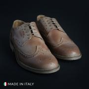 Pantofi siret Duca Di Morrone 208_CRUST Maro