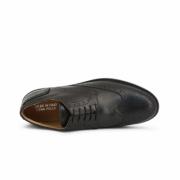 Pantofi siret Duca Di Morrone 208_CRUST Negru