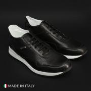 Pantofi sport Duca Di Morrone 202_CRUST Negru