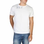 Tricouri Hackett HM500323 Alb