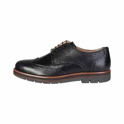Pantofi siret Pierre Cardin 300M-GONZALO Negru