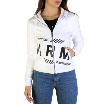 Bluze sport Armani Exchange 3GYM72_YJX1Z Alb