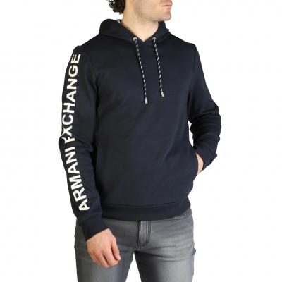 Bluze sport Armani Exchange 3ZZM79_ZJR8Z Albastru