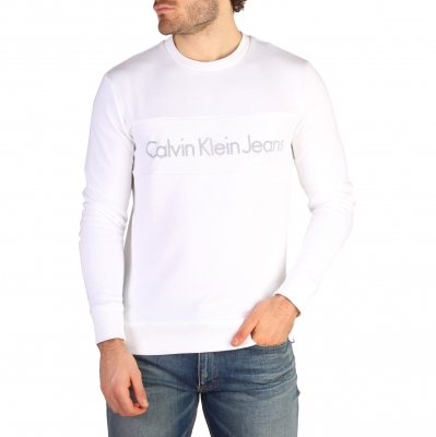 Bluze sport Calvin Klein J30J304676 Alb