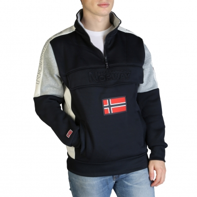 Bluze sport Geographical Norway Fagostino007_man Albastru