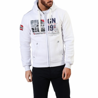 Bluze sport Geographical Norway Falopark_man Alb