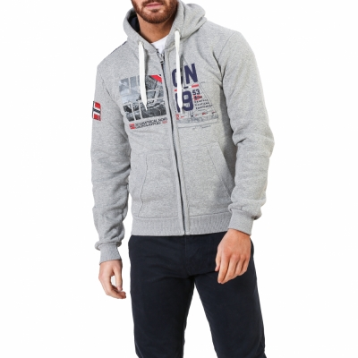 Bluze sport Geographical Norway Falopark_man Gri