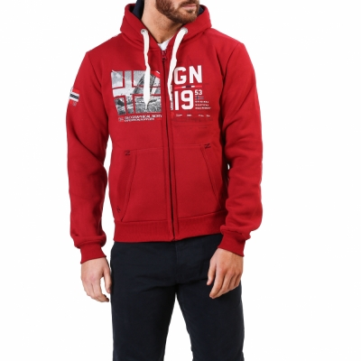 Bluze sport Geographical Norway Falopark_man Rosu