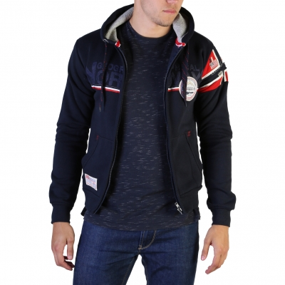 Bluze sport Geographical Norway Faponie100_man Albastru