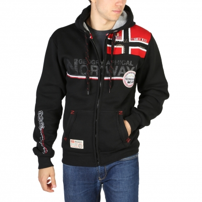 Bluze sport Geographical Norway Faponie100BS_man Negru