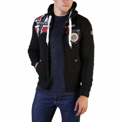 Bluze sport Geographical Norway Fespote100_man Negru