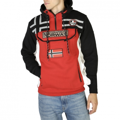 Bluze sport Geographical Norway Fitakol_man Negru