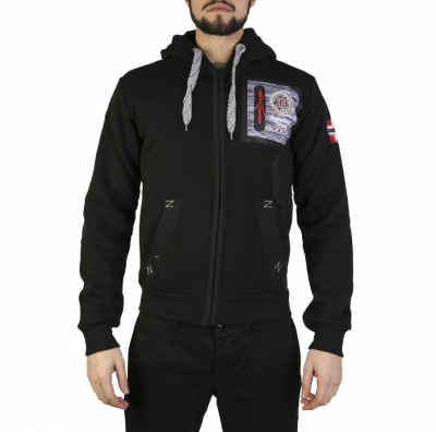 Bluze sport Geographical Norway Fitor_man Negru
