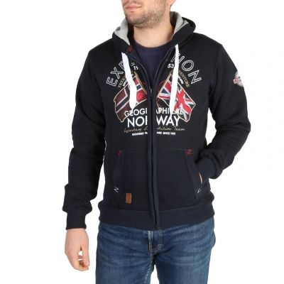 Bluze sport Geographical Norway Flepto100_man Albastru