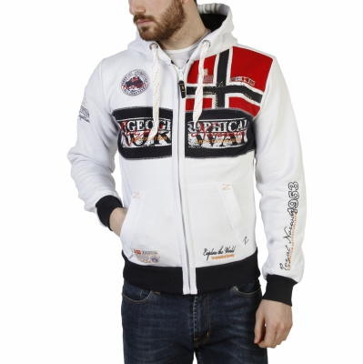 Bluze sport Geographical Norway Flyer_man Alb