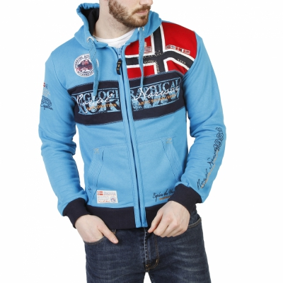 Bluze sport Geographical Norway Flyer_man Albastru