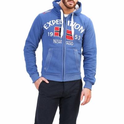 Bluze sport Geographical Norway Foccupe_man Albastru