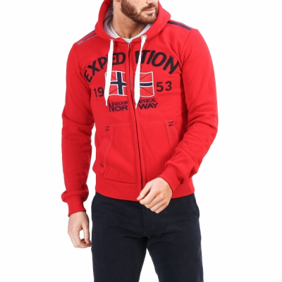 Bluze sport Geographical Norway Foccupe_man Rosu