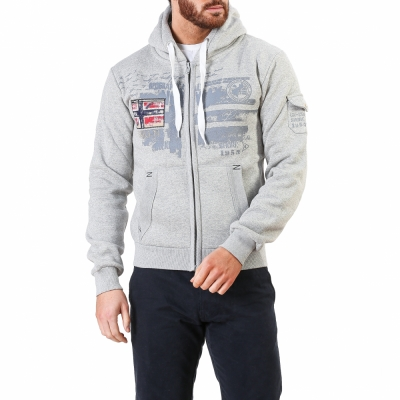 Bluze sport Geographical Norway Fohnson_man Gri