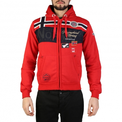 Bluze sport Geographical Norway Garadock_man Rosu
