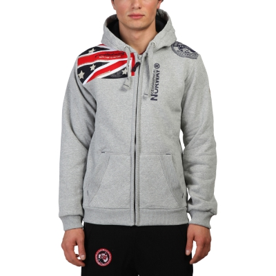 Bluze sport Geographical Norway Gatsby Gri