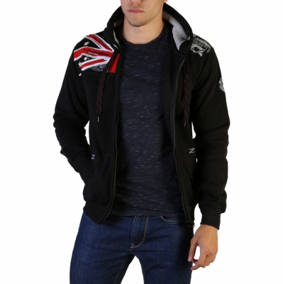 Bluze sport Geographical Norway Gatsby100_man Negru