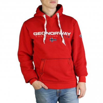 Bluze sport Geographical Norway Golivier_man Rosu