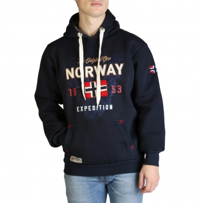 Bluze sport Geographical Norway Guitre100_man Albastru