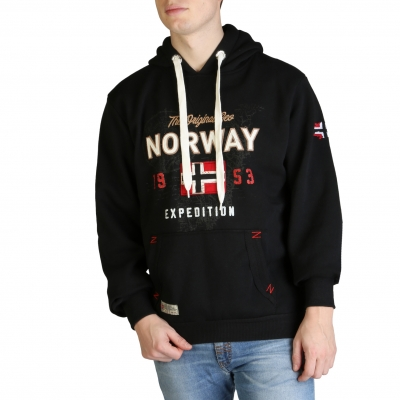 Bluze sport Geographical Norway Guitre100_man Negru