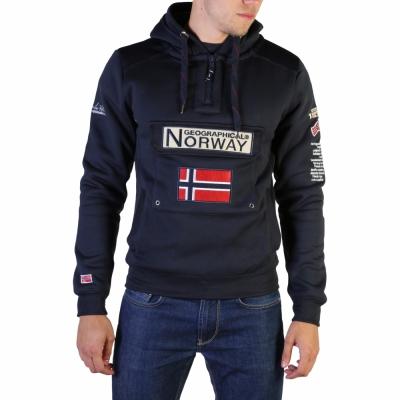Bluze sport Geographical Norway Gymclass007_man Albastru