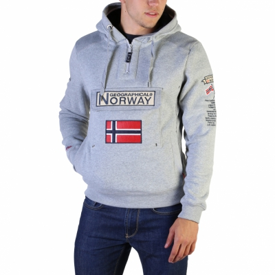 Bluze sport Geographical Norway Gymclass007_man Gri