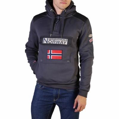 Bluze sport Geographical Norway Gymclass007_man Gri