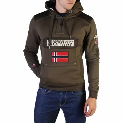 Bluze sport Geographical Norway Gymclass007_man Verde