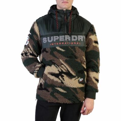 Bluze sport Superdry M2000037A Verde